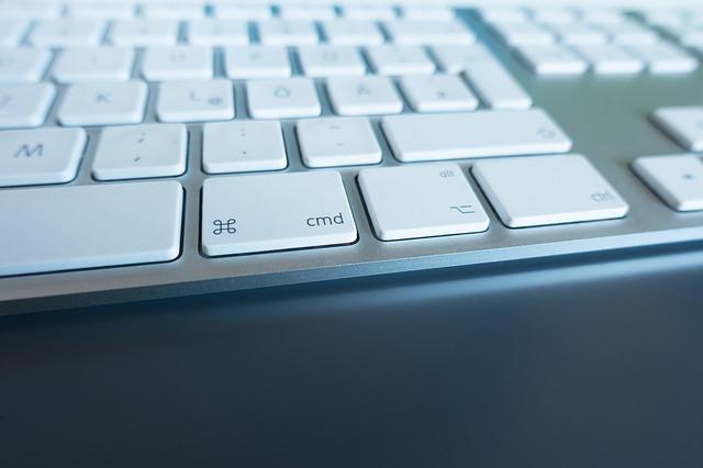 nízká klávesnice