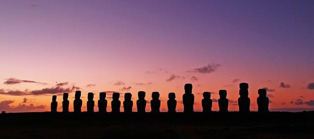 sochy na ostrově