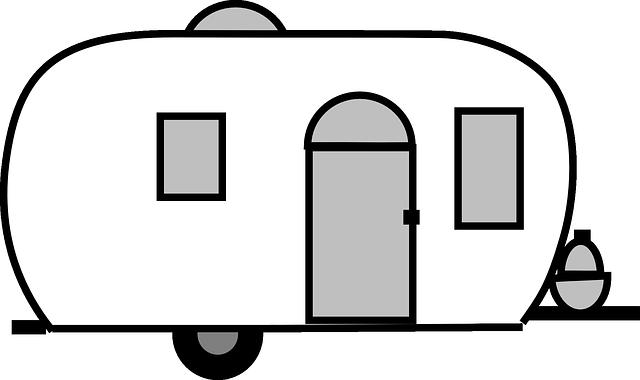 namalovaný karavan