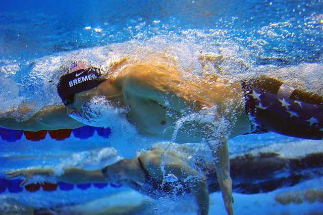 plavci pod vodou