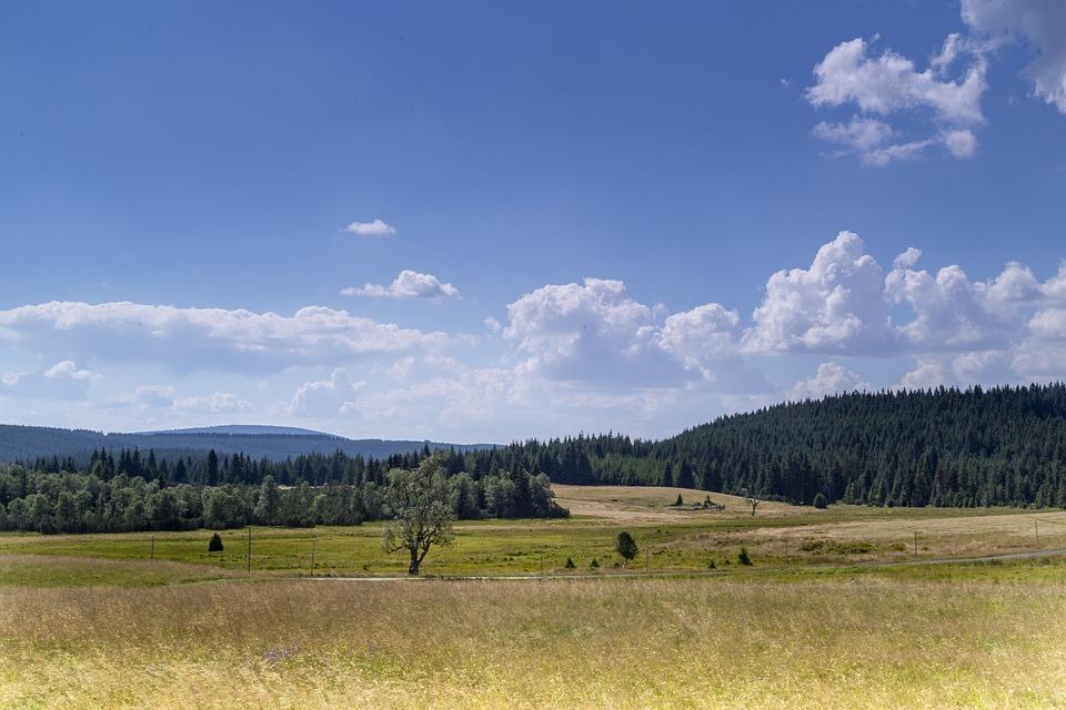 krajina Jizerských hor